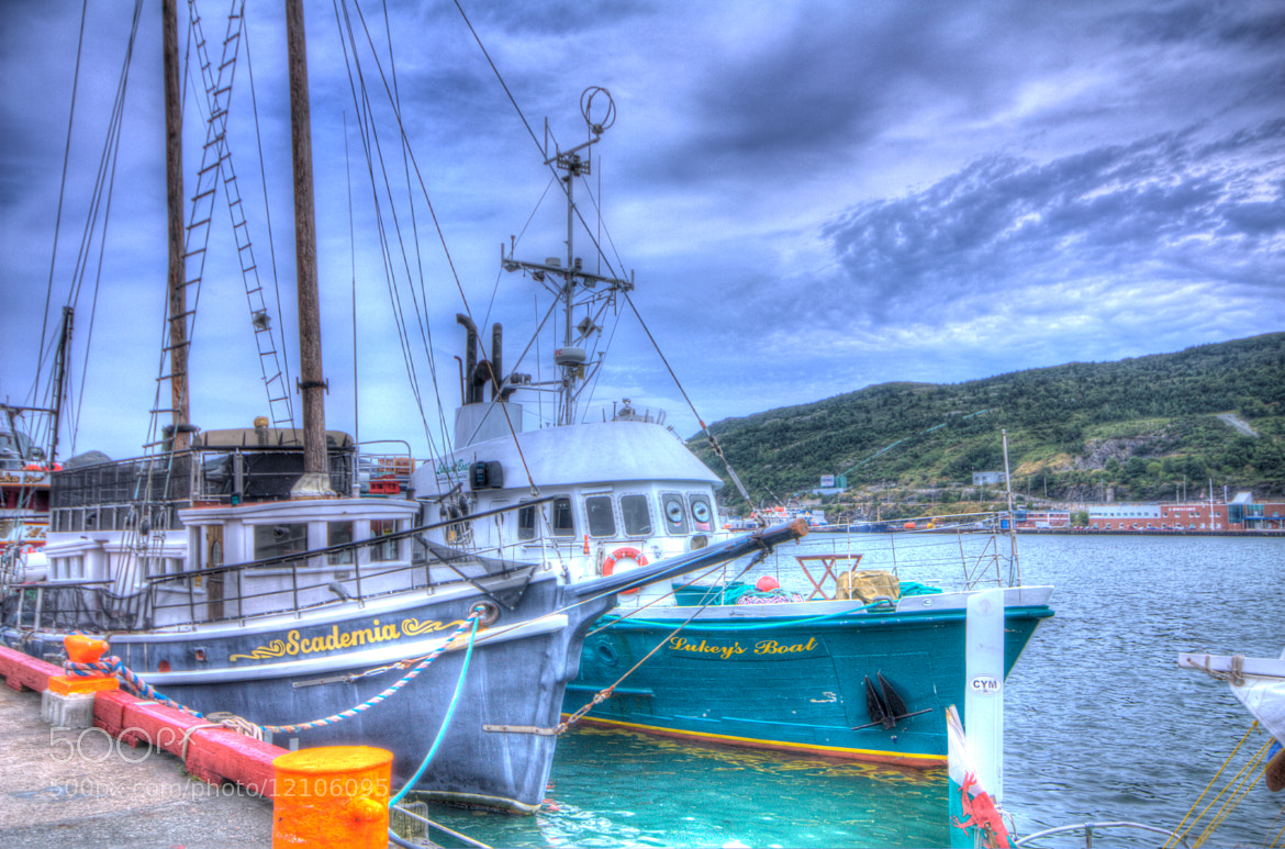 Photograph Boats Docked on the harbour by Jen Delorme on 500px