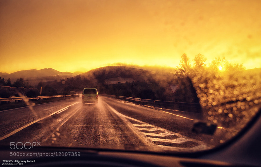 Photograph Highway to hell by KUbajsz Fiser on 500px