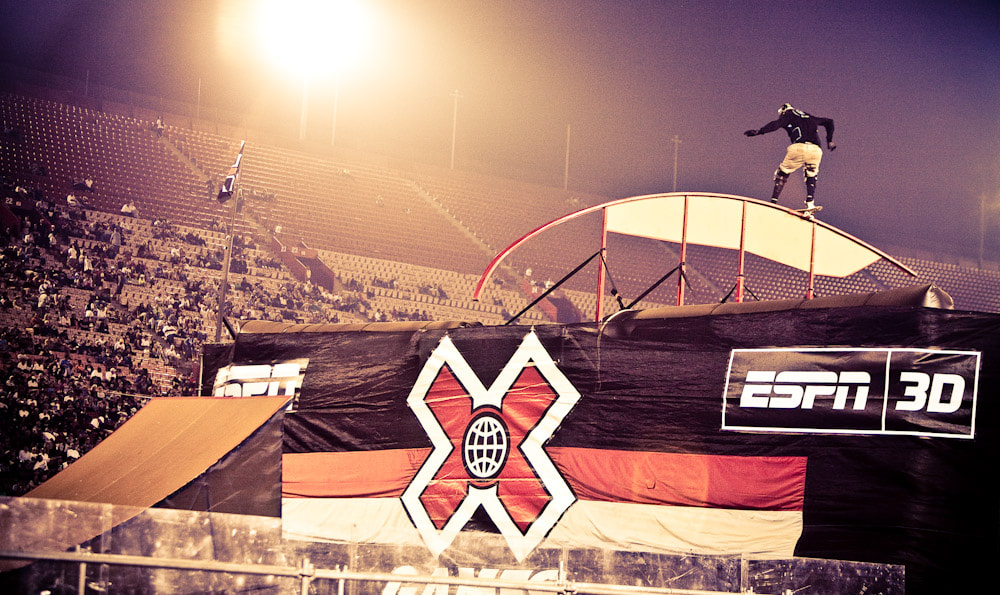 Photograph X-Games in LA by Kirill Umrikhin on 500px