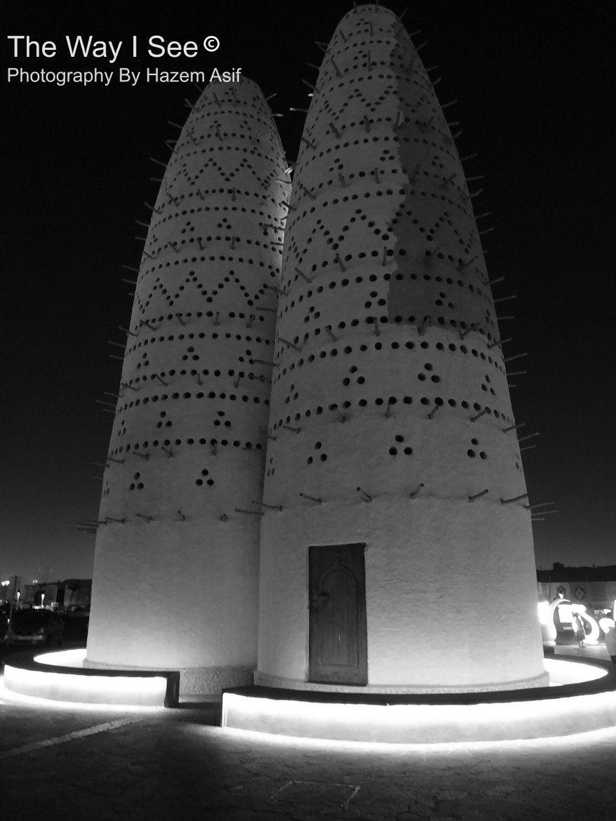 Photograph Pigeon Tower, Doha by Hazem Asif on 500px