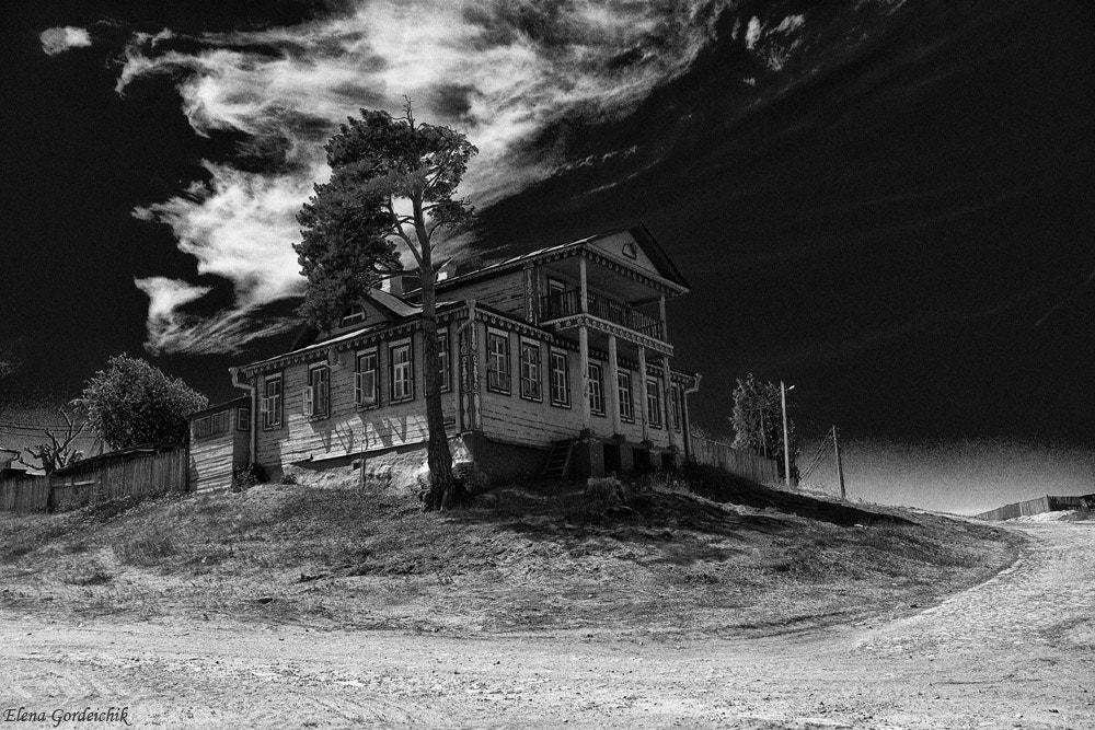 Photograph The house on the hill by Elena Gordeichik on 500px