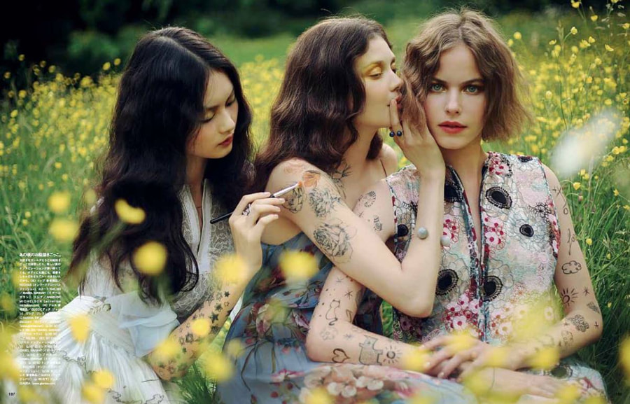 Fresh Power Of Beauty for Vogue Japan by Alexandra Sophie on 500px.com
