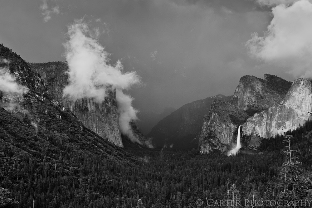 Photograph Valley Storm by Justin Carter on 500px