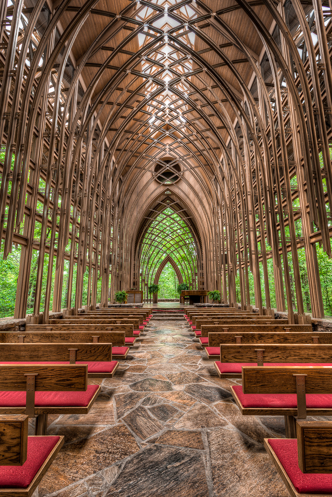 Photograph Chapel in the Woods by  W Brian Duncan on 500px