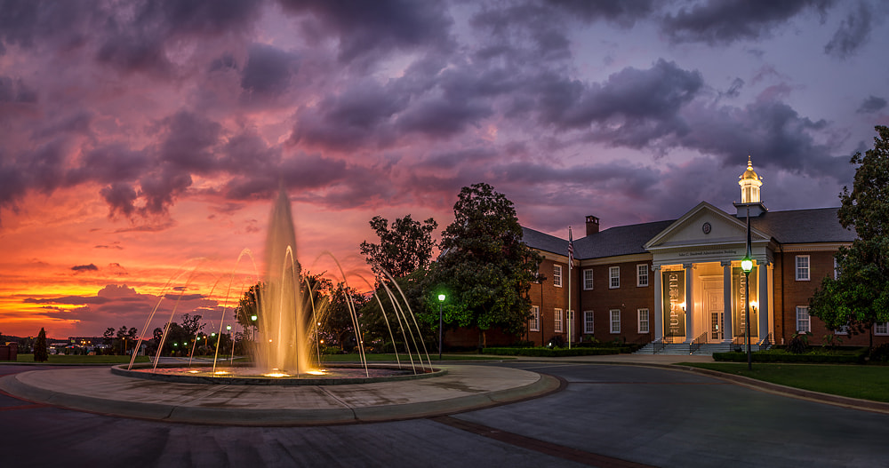 Photograph USC Upstate Spartanburg by Ken Toney on 500px