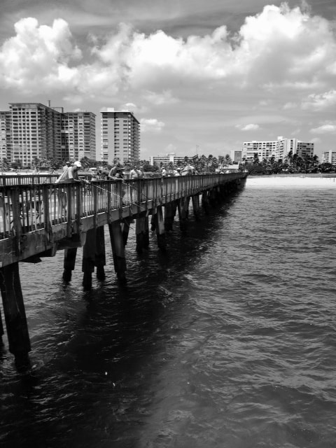 Photograph Pompano Pier by Luke Lucius on 500px