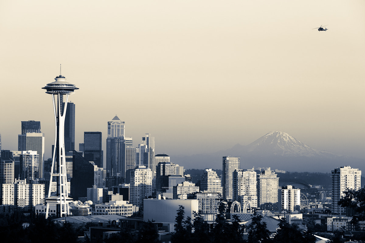 Photograph Vintage Seattle by Nicole S. Young on 500px