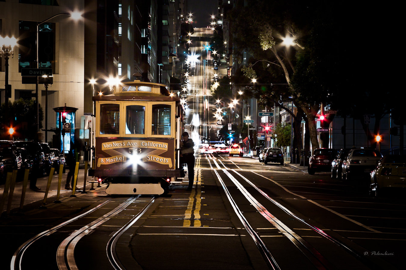 Photograph Cable Car in California St - San Francisco by Dominique  Palombieri on 500px