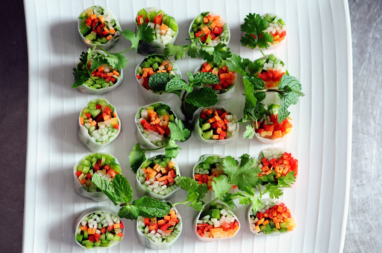 Photograph Salad Rolls by Simon Sperling on 500px