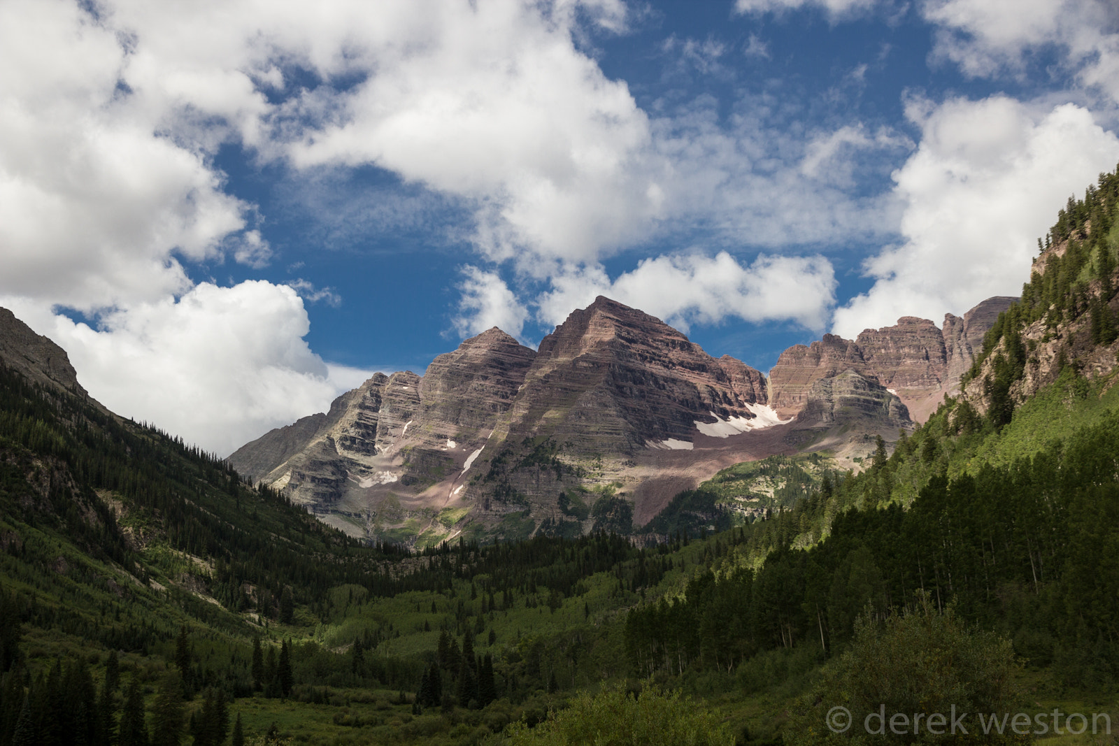 Photograph Maroon Bells Cloudscapes by Derek W on 500px