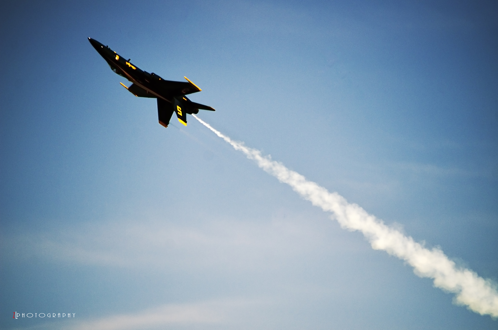 Photograph Blue Angels II by Zouhair Lhaloui on 500px