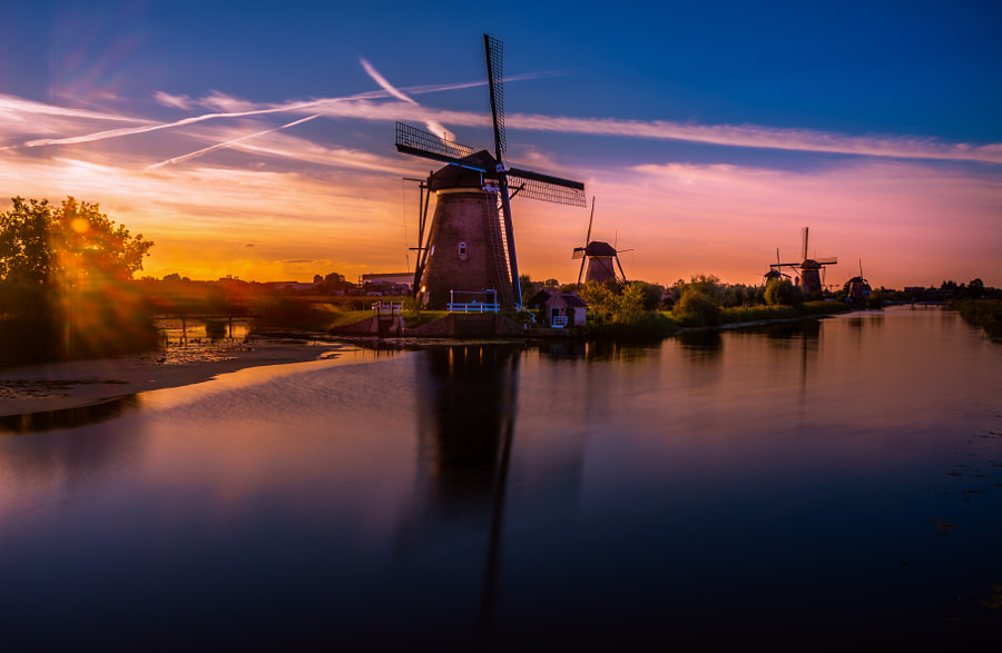 Photograph Windmills of Holland. by Remo Scarfò on 500px