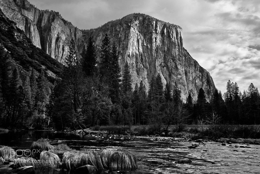 Photograph El Capitan and the Merced River by Joseph Fronteras on 500px