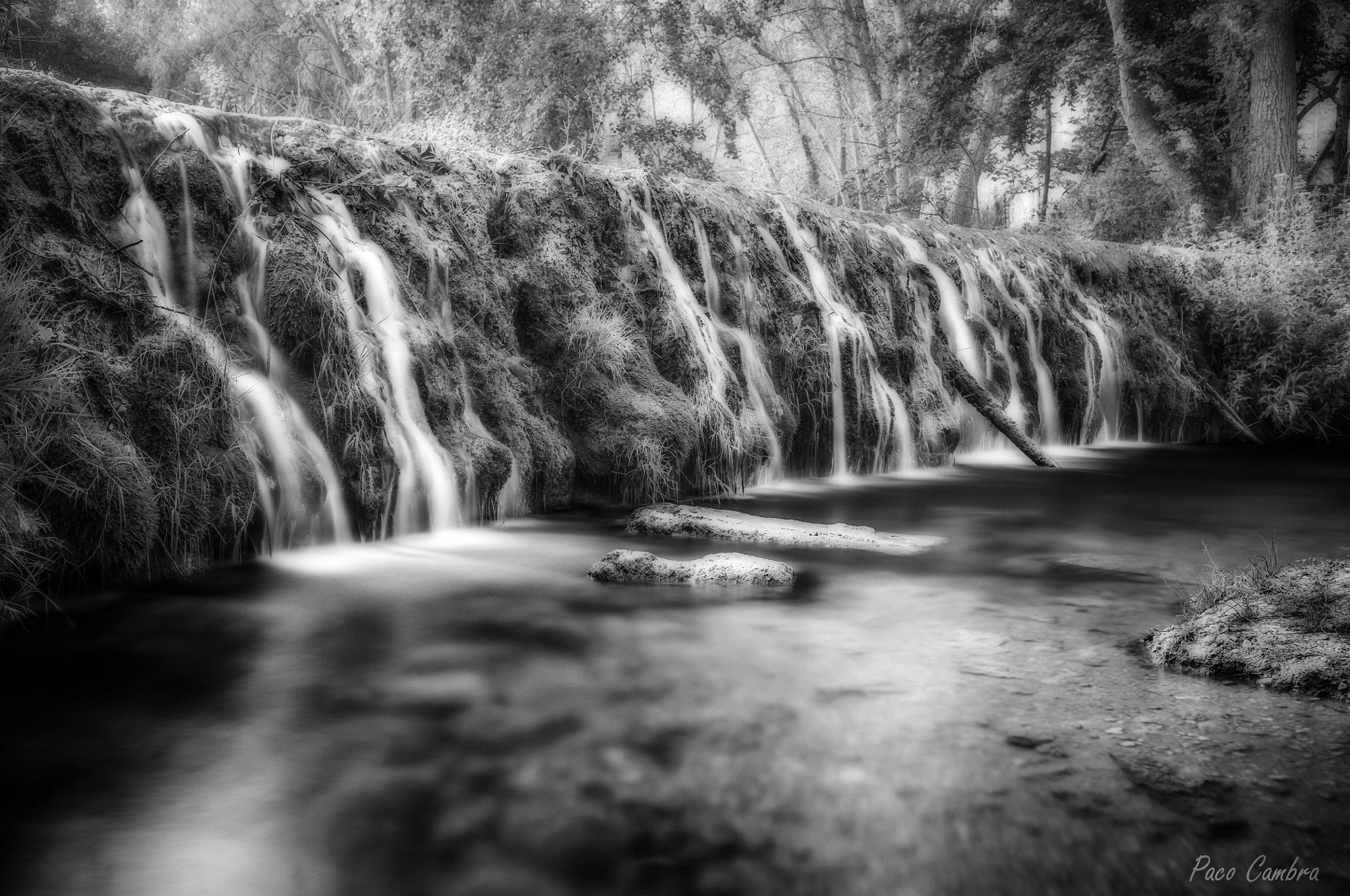 Photograph Small waterfalls by Paco Cambra on 500px