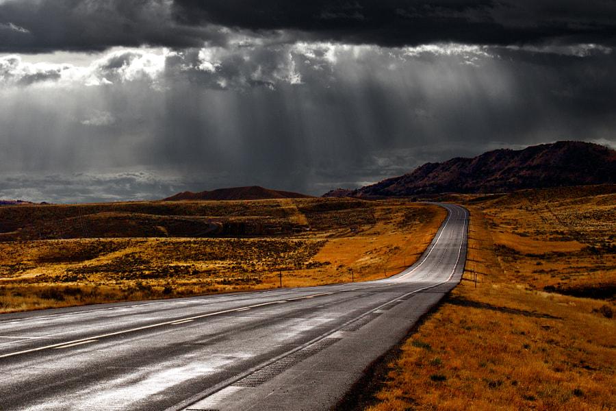 the road leads on by frank waters on 500px.com