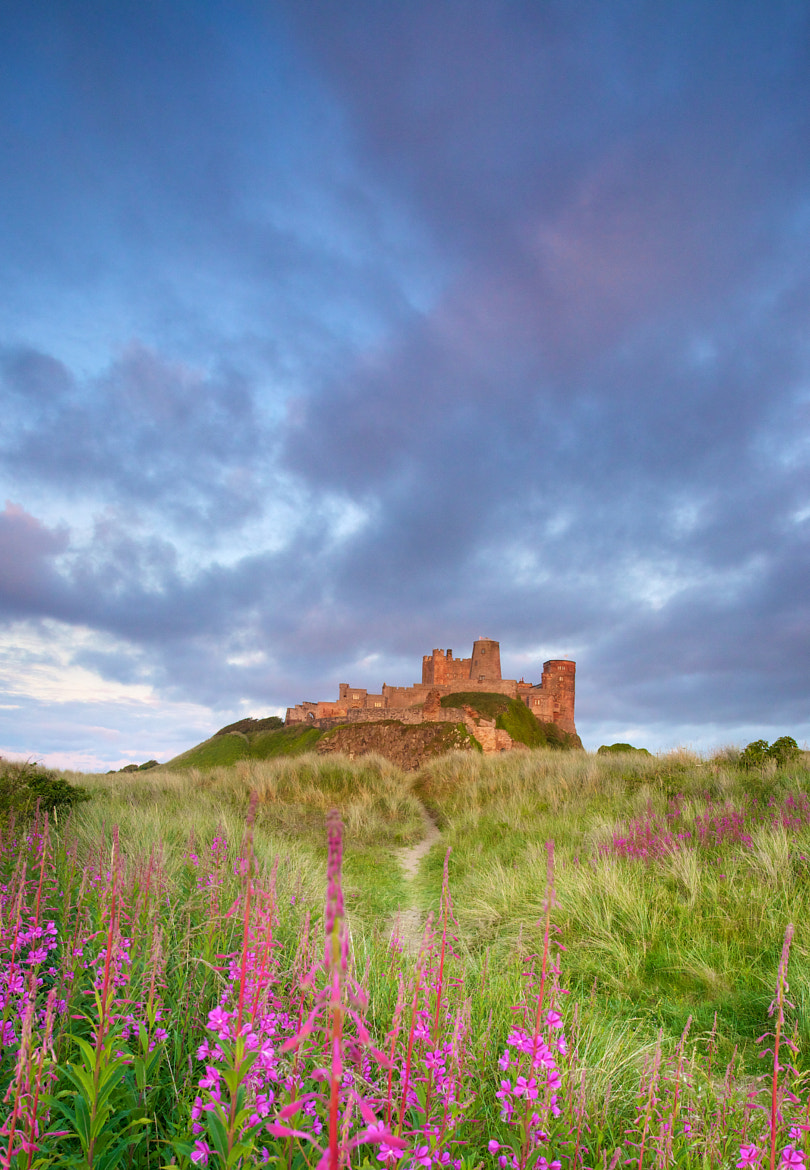 Photograph Sunset on Bamburgh Castle by David Fidler on 500px