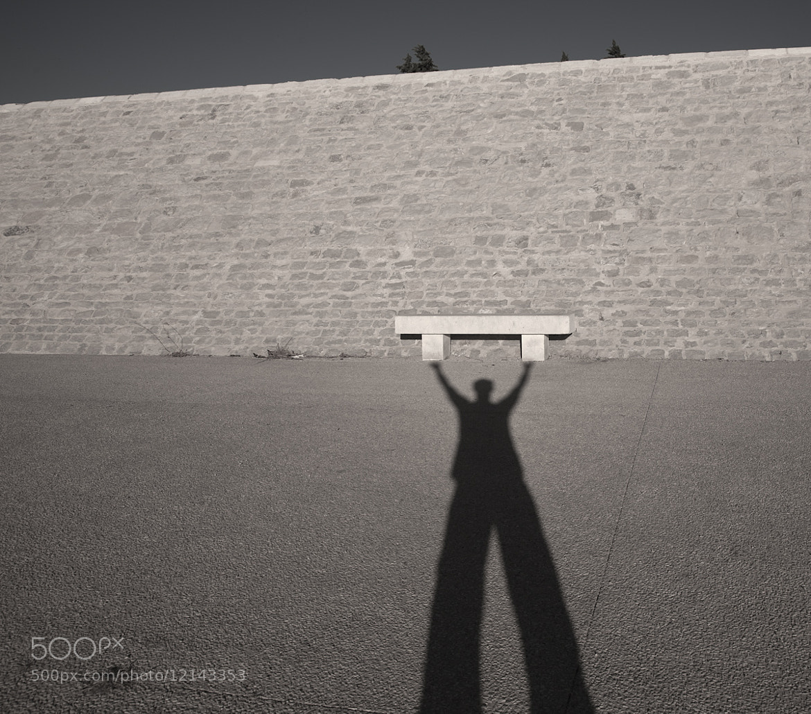 Photograph The shadowman by audun nygaard on 500px