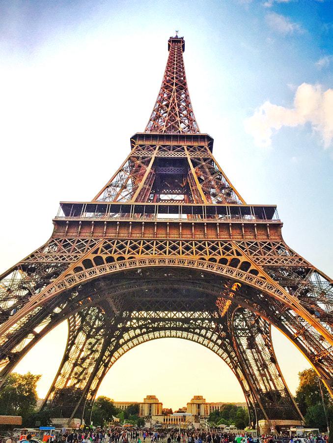 Eiffel Eiffel Eiffel by Ahmet Hamdi on 500px.com