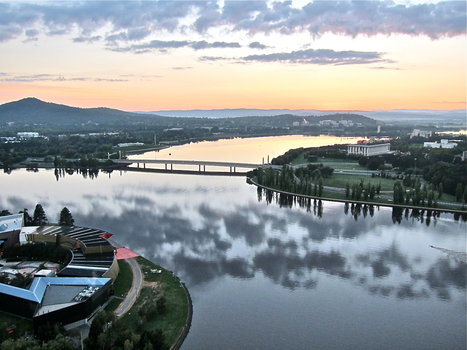 Photograph Canberra's Lake Burley Griffin by Jeffrey van Aalst on 500px