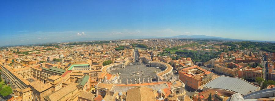 Vatican Panaromic by Ahmet Hamdi on 500px.com