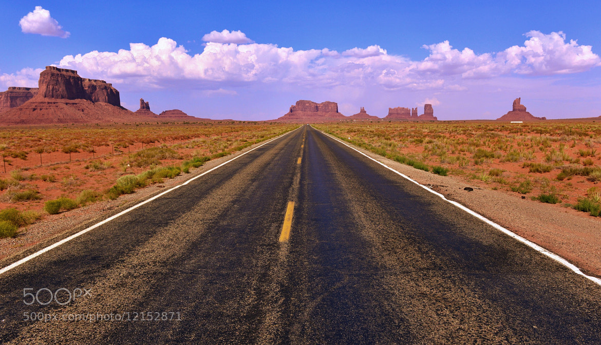 Photograph On the Road by Jeff Clow on 500px