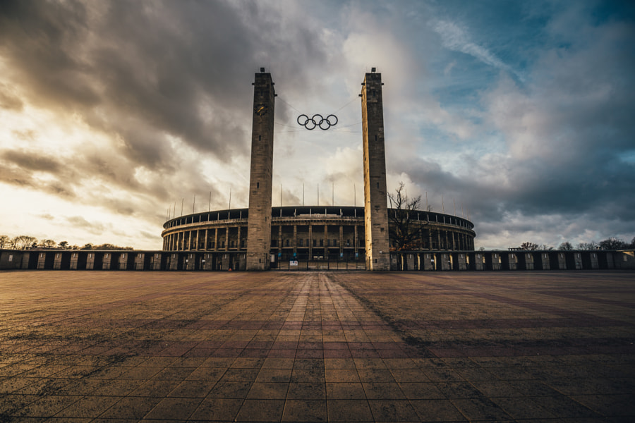Olympiastadion Berlin by Søren ° s1000 on 500px.com