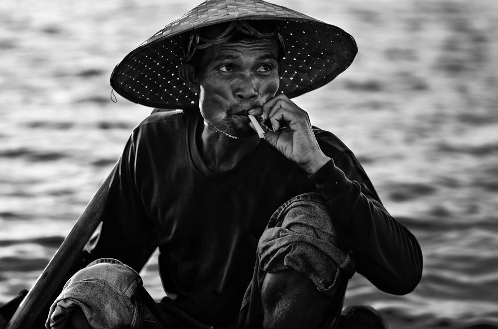 Photograph Fisher man by Chanwit Whanset on 500px