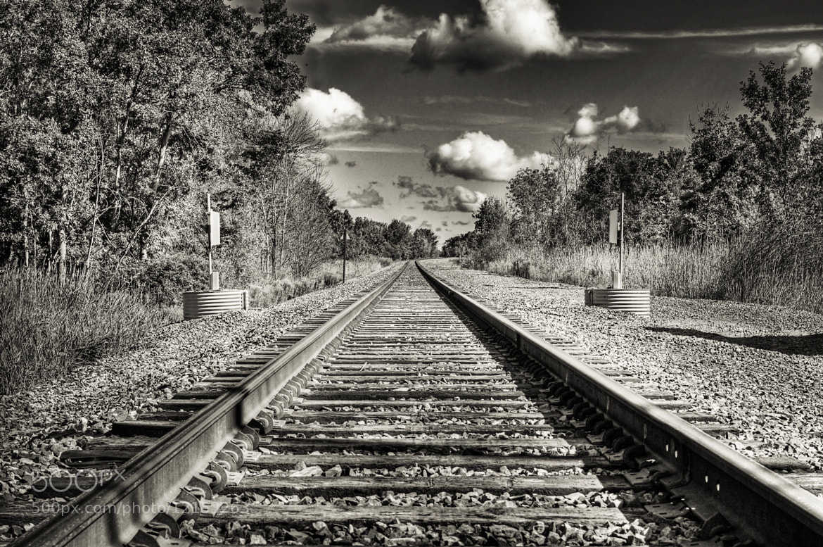 Photograph My Train Tracks Photo by Mike & Nicole Stuart on 500px