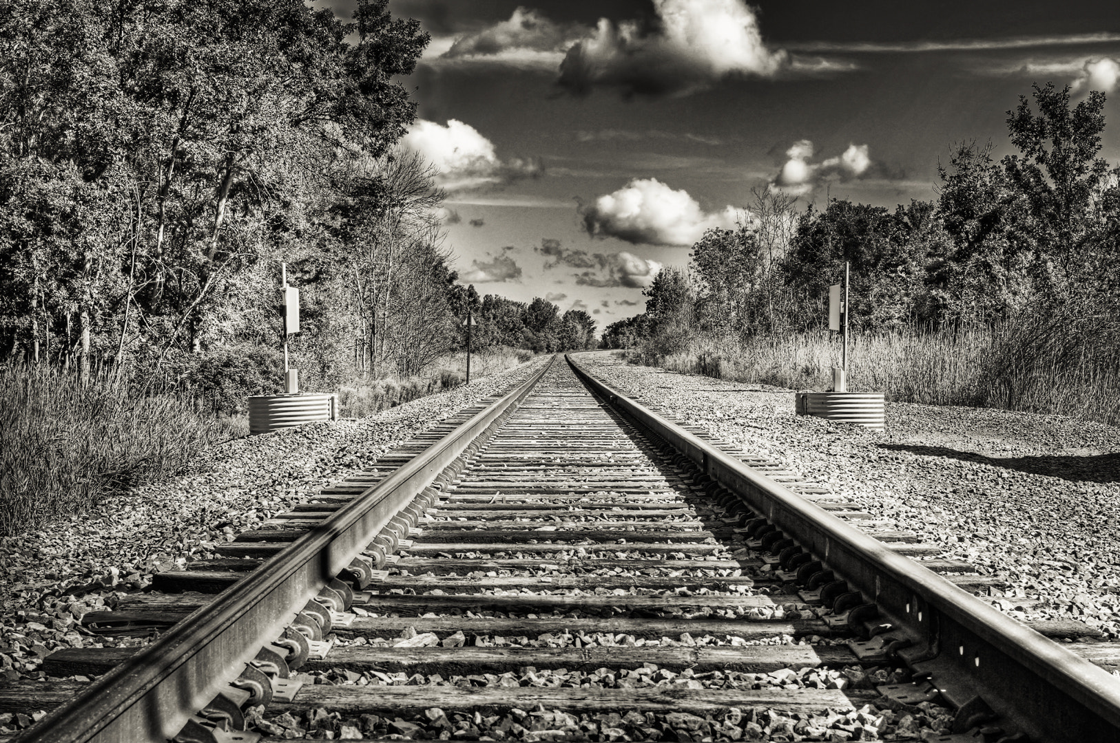 Photograph My Train Tracks Photo by Michael B. Stuart on 500px