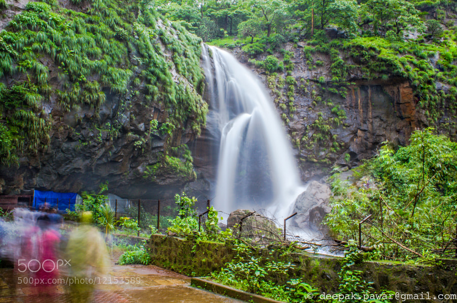 Photograph Waterfall near Shivtharghal caves by Deepak Pawar on 500px