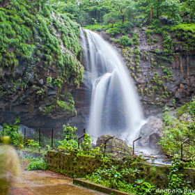 Waterfall near Shivtharghal caves by Deepak Pawar (dpphotos)) on 500px.com