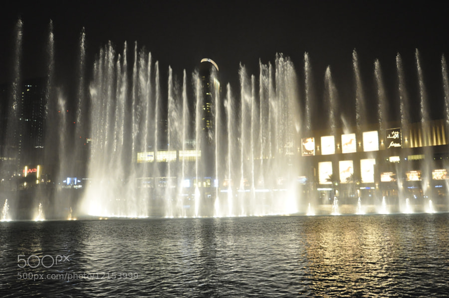 Photograph Fountain  by Majed  M on 500px