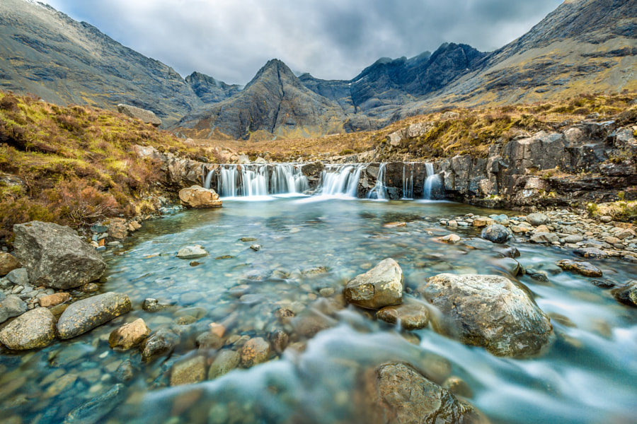 Fairy Pools by Bartosz Dmowski on 500px.com