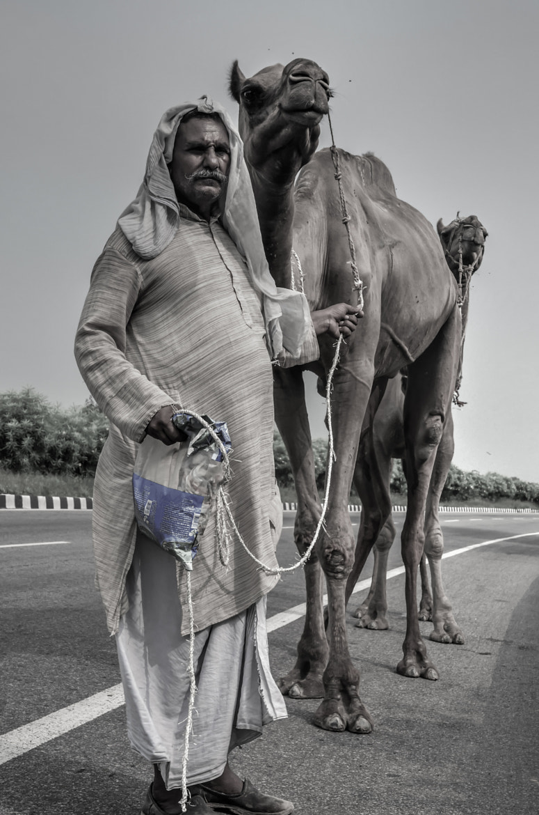 Photograph Camel Driver!! by Palash K on 500px