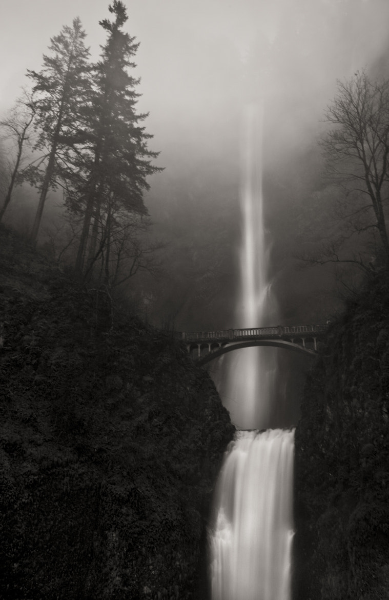 Photograph Multnomah Falls and Fog by Matthew Vogt on 500px