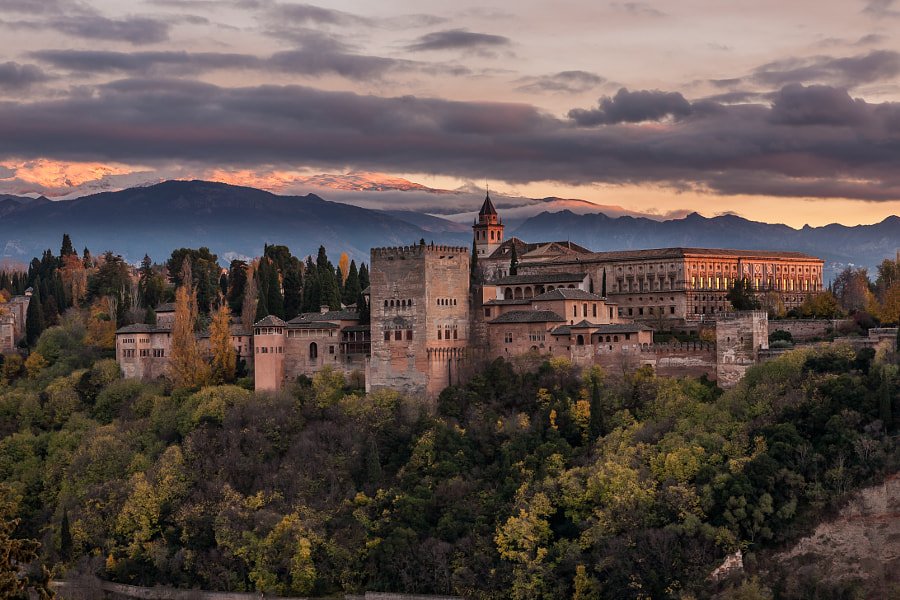 Alhambra Sunset by Raymond Choo on 500px.com