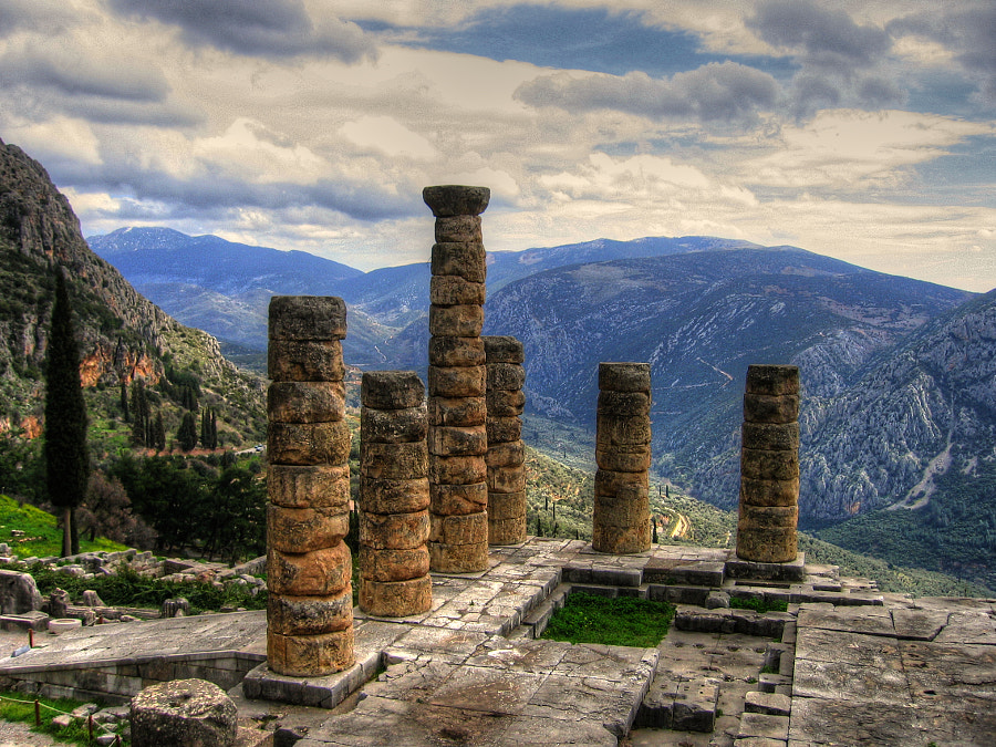 The DELPHI oracle by Vangelis Kakavas on 500px.com