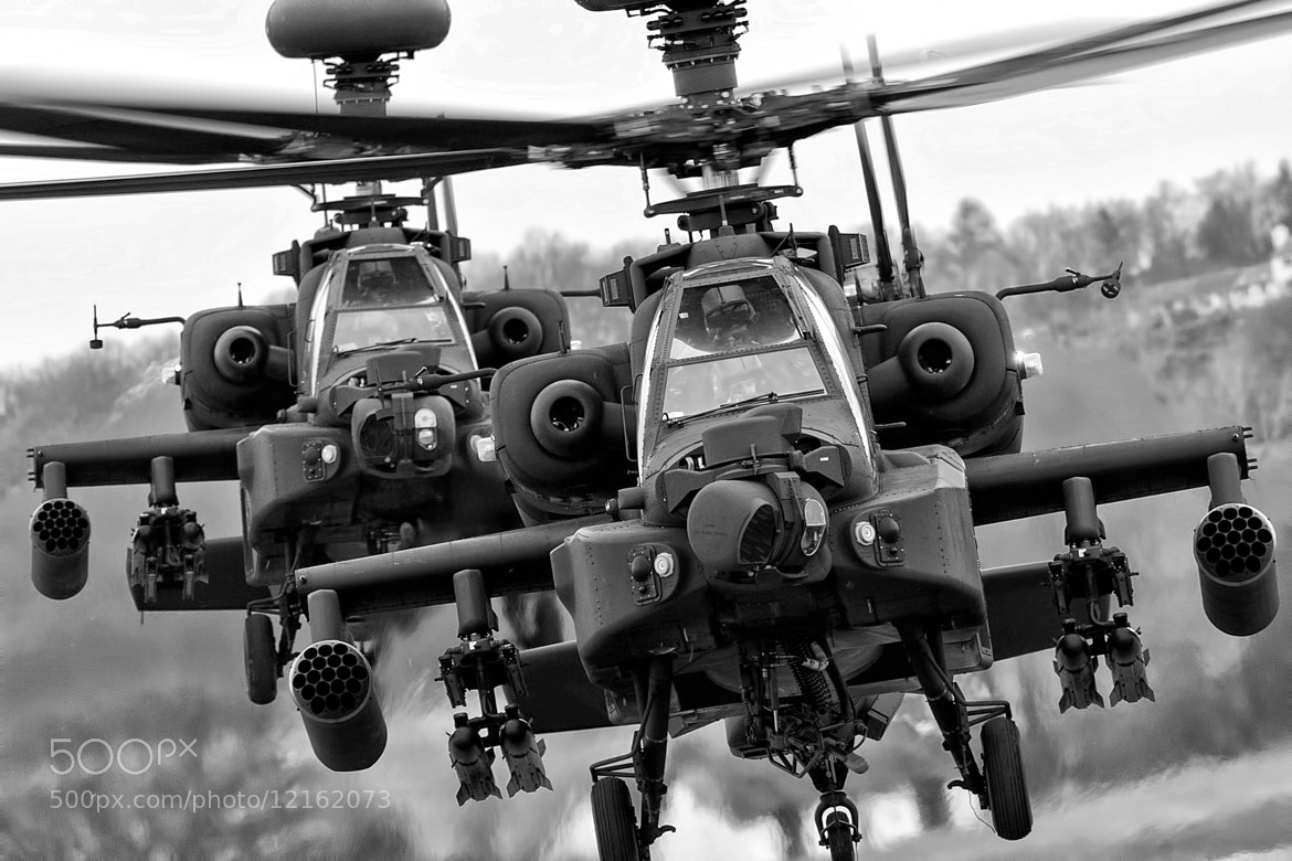 Photograph AgustaWestland Apaches AH Mk1  by Lloyd Horgan on 500px