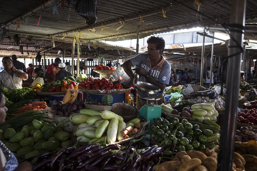 Market Day, Mauritius