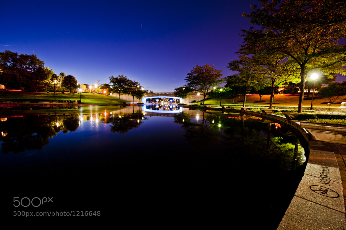 Photograph Indianapolis Downtown Canal in Spring by Bradley Clampitt on 500px