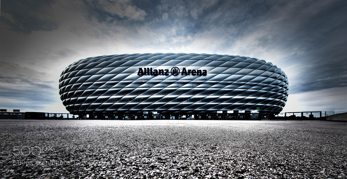 photograph allianz arena m nchen by harald kr mer on 500px. Black Bedroom Furniture Sets. Home Design Ideas