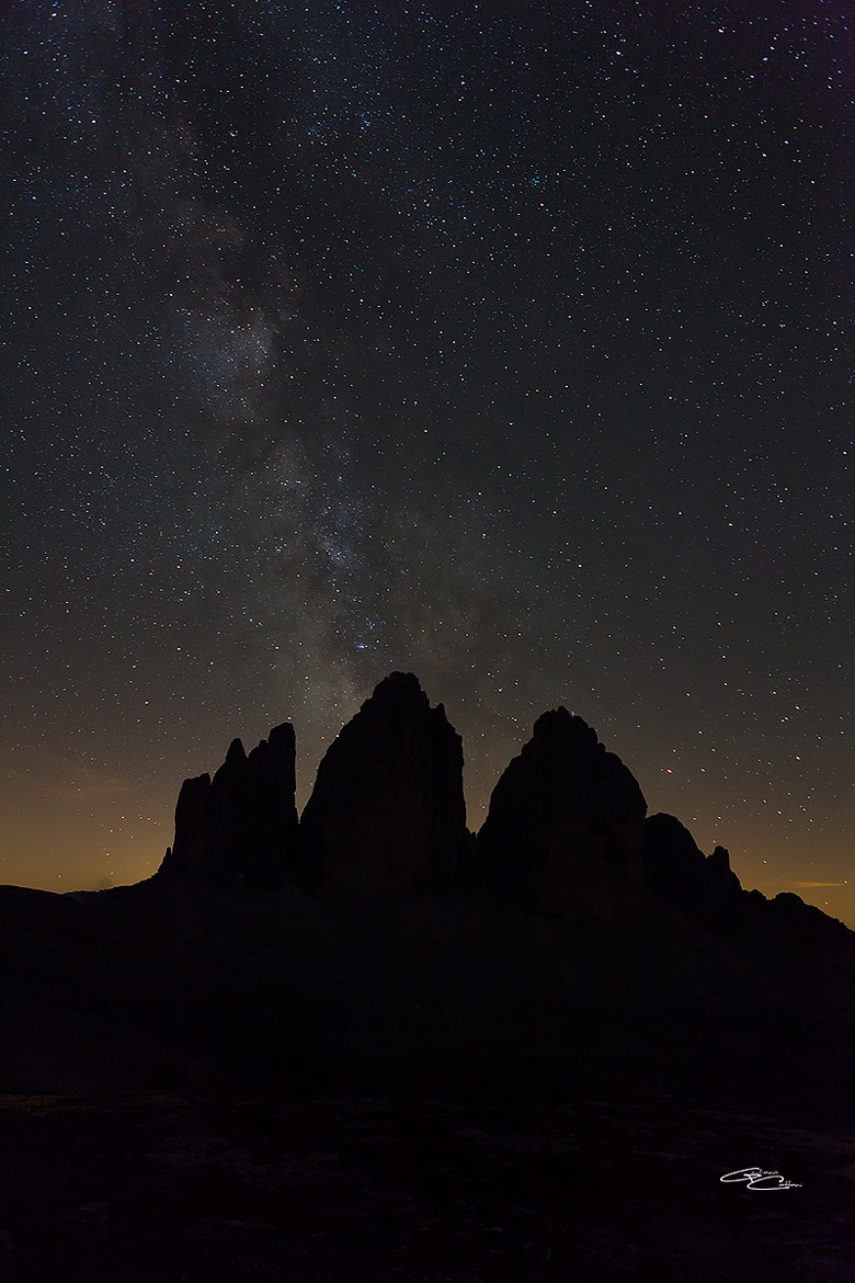 Photograph The milky way by Giuliano Cattani on 500px