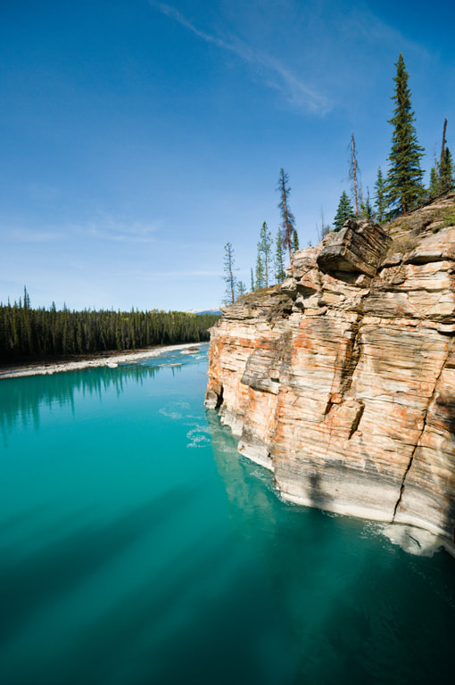 Photograph Athabasca River by Bryn Tassell on 500px