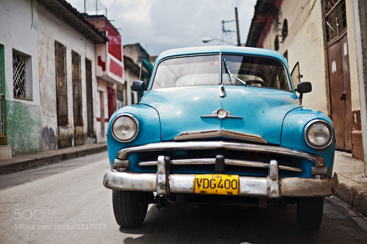 Photograph Vintage car in Santa Clara, Cuba by Vincent Demers on 500px