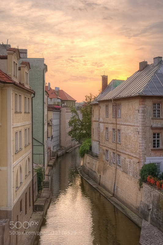 Photograph Canal in Lesser Quarter, Prague by Meleah Reardon on 500px