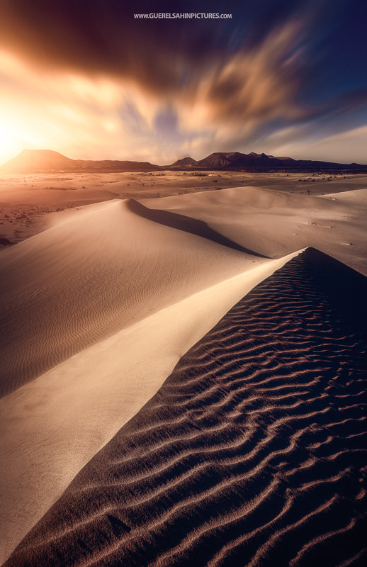 Golden Dunes by guerel sahin on 500px.com