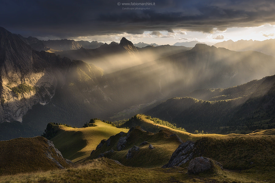 RAIN OF LIGHT by Fabio Marchini on 500px.com