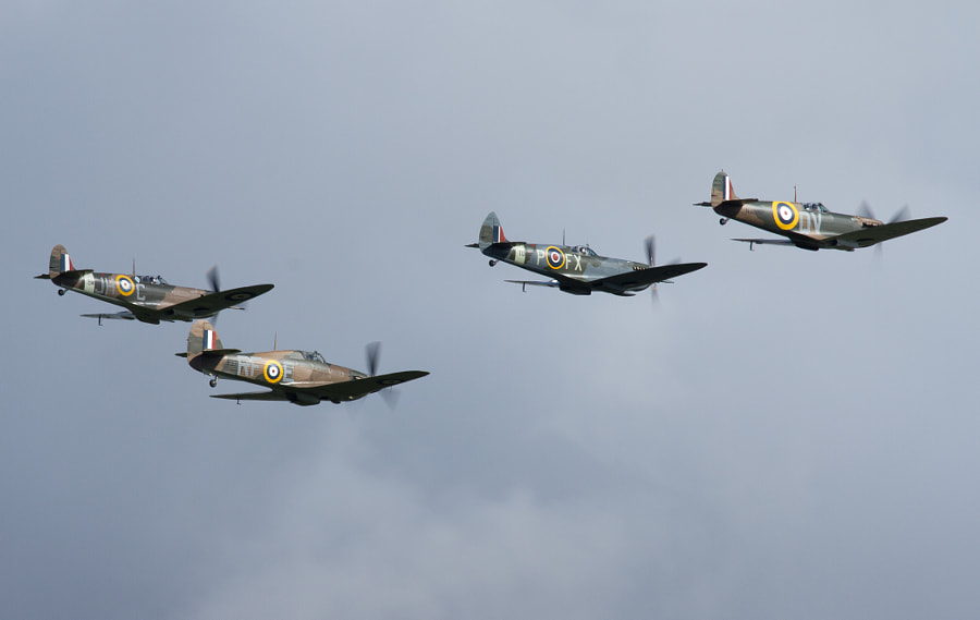 Battle of Britain Flypast @ Goodwood