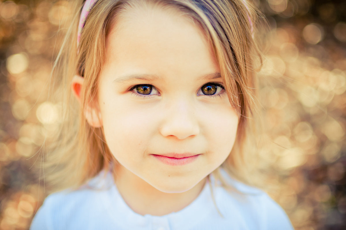 Photograph Little Bokeh Babe by Molly Molin on 500px