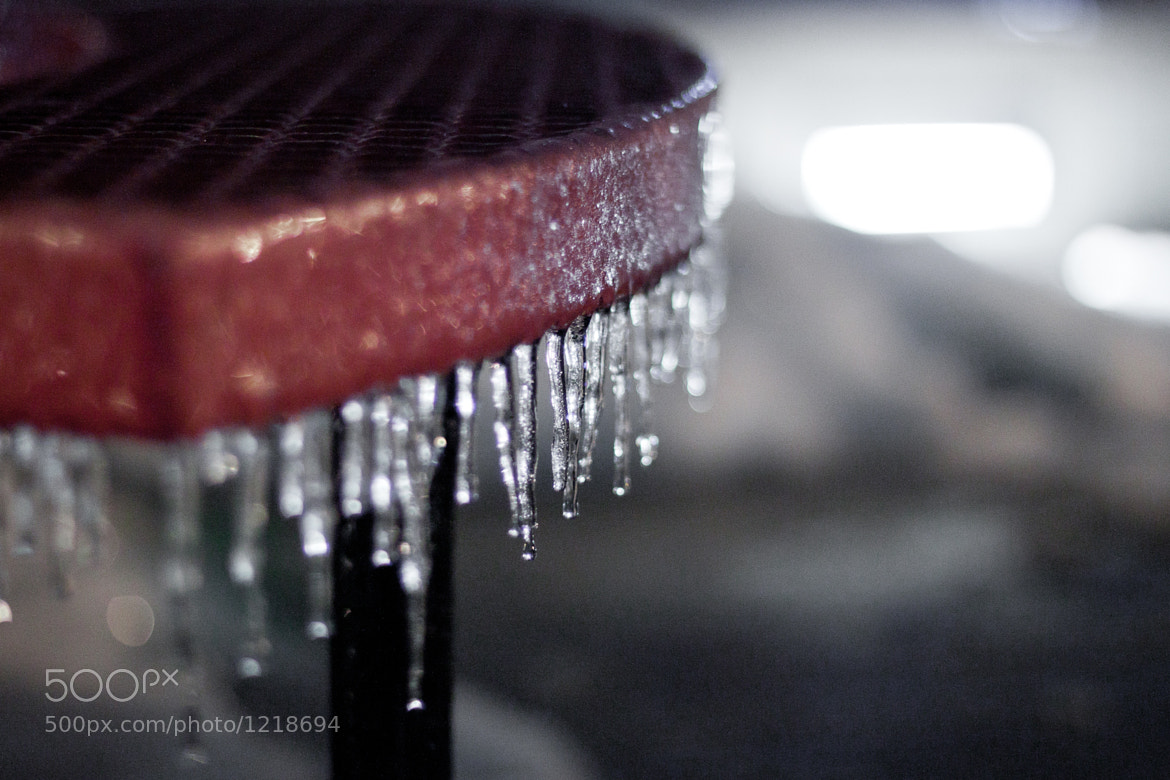 Photograph Icey Bench by Justin Marimon on 500px